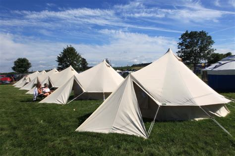The Tents Are Here To Stay 3 by 4 Metre Bell Tent With Reflex Mattress Cloudhouses