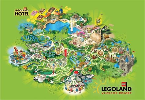 printable map legoland windsor the legoland windsor resort park map holiday ideas