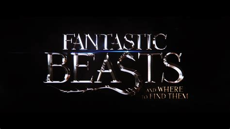 where to find wallpaper fantastic beasts and where to find them logo wallpaper