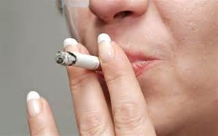 Smoking with one in four young people smoking compared with one in