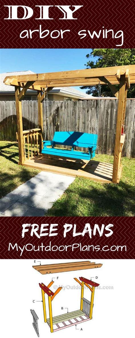 diy arbor swing best 25 backyard swings ideas on pinterest garden swing