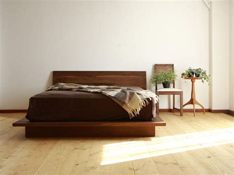 Japanese Bed Frame Ikea Interior Pieces By Hiromatsu Furniture Inc Oen