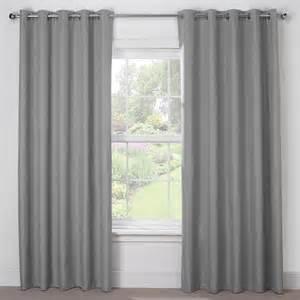 grey blackout eyelet curtains silver grey luxury blackout eyelet curtains pair