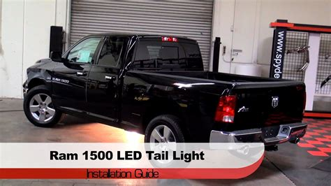 2014 ram 1500 led tail lights spyder auto installation 2009 14 dodge ram trucks 1500