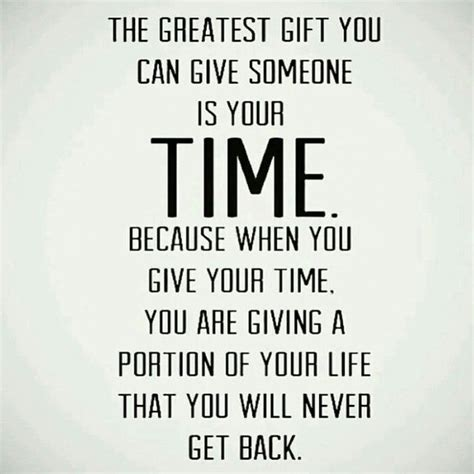greatest gift to someone is time whatsapp status quotes
