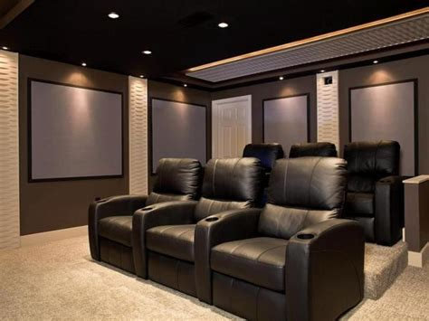home theatre design on a budget modern home theater room home decor ideas