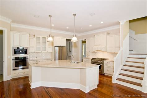 Pictures Of Kitchens Traditional Off White Antique White Cabinets Kitchen Design
