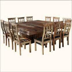 Big Dining Room Tables by Large Square Dining Room Table For 12 Dining Room Tables