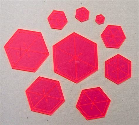 hexagon templates for quilting applique patterns quiltsocial