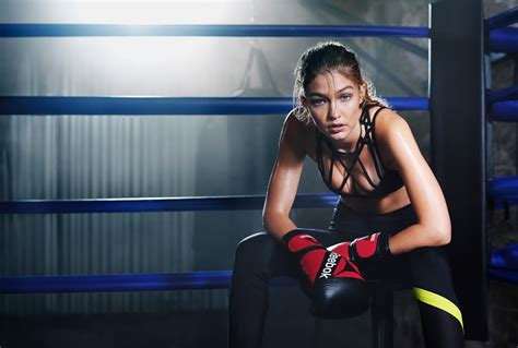 wallpaper gigi hadid reebok  celebrities