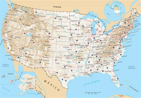 houston mapa estados unidos mapa de estados unidos turismoeeuu