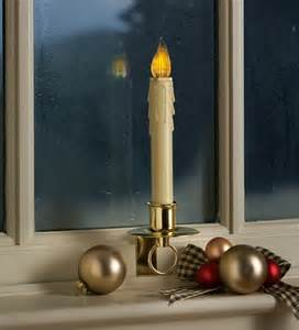 stay put battery powered window candle with on off sensor