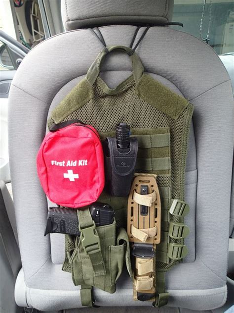 homemade tactical vehicles diy tactical car seat back preparing for shtf zombie