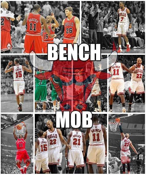 chicago bulls bench mob bench mob dabulls da bulls pinterest chicago bulls
