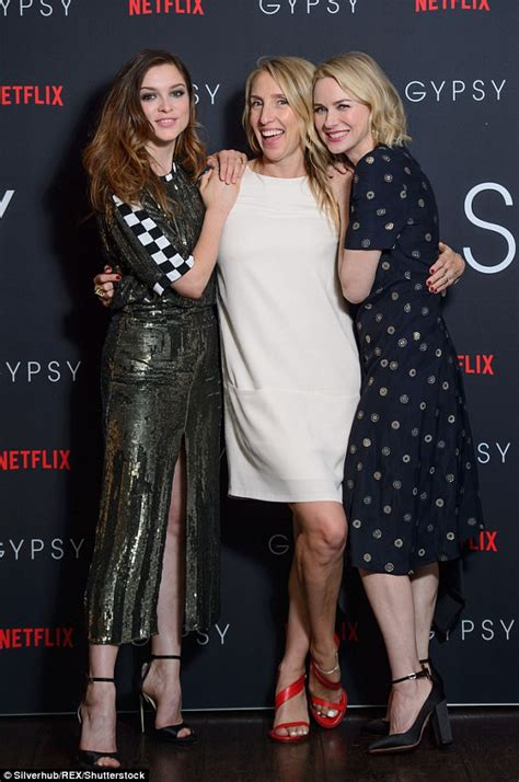 stephen cbell moore and sophie cookson naomi watts wears midi dress at gypsy screening in london