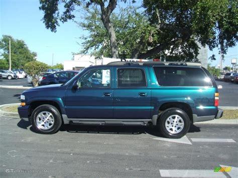 chevy suburban blue 2005 bermuda blue metallic chevrolet suburban 1500 z71 4x4