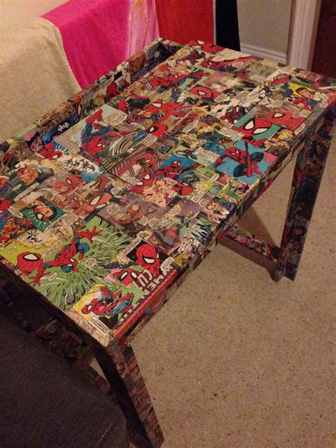 Decoupage A Desk - decoupage desk bed room ideas