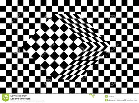 ilusiones ópticas blanco y negro ilusi 243 n 243 ptica del cubo blanco y negro imagen de archivo