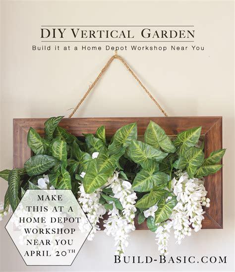 home depot vertical garden garden inspiration