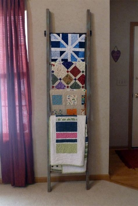 Quilt Ladders For Display by Quilt Display Ladder Dwell