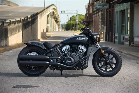 Indian Moto Scout Bobber by Stealthy Indian Scout Bobber Motorcycle Has Liquid Cooled