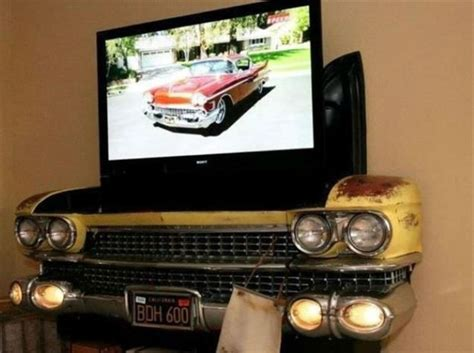 35 clever ideas for using car parts as home decor sortra