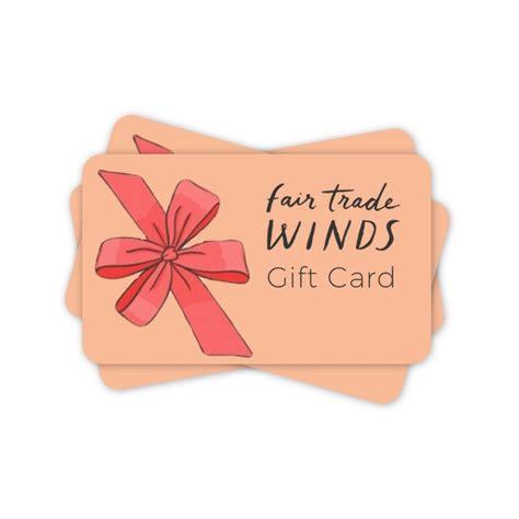 Trade Gift Card Codes - fair trade gift ideas