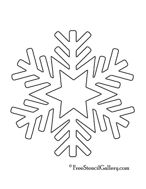 printable winter snowflakes printable snowflakes stencils images