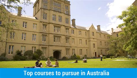 Courses After Mba In Uk by Top Courses To Study In Australia