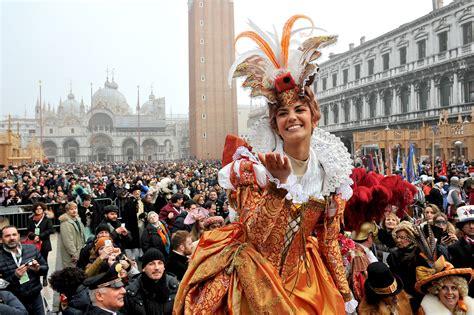 The Of Venice Festival by Italy Celebrates Venice Carnival 2016