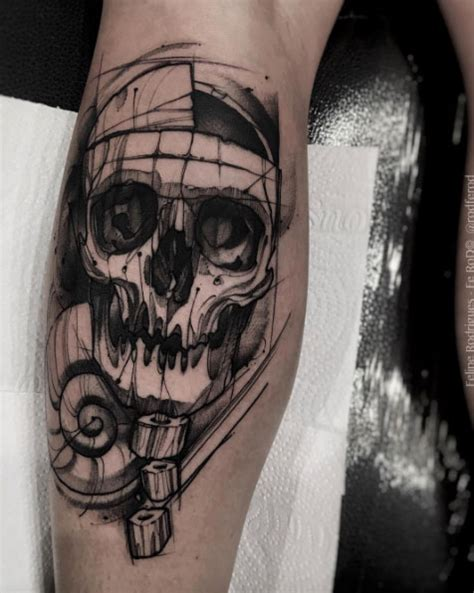 the coolest skull tattoos you ll ever see 50 photos