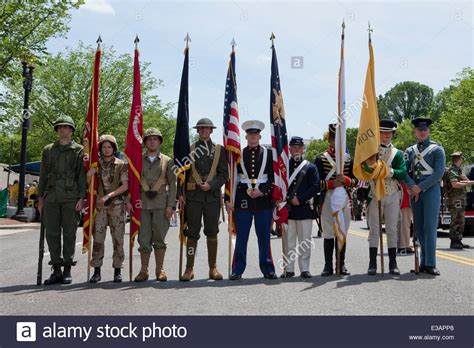 what is the color guard us color guard in period correct uniforms from