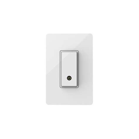 wifi enabled light switch belkin wemo light switch wi fi enabled 196 best gifts for