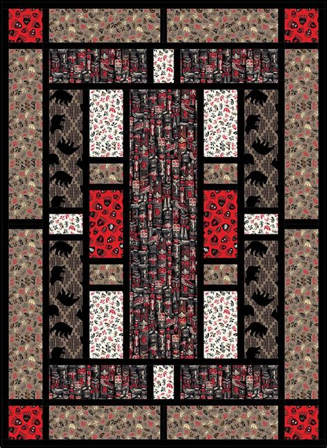 Panel Quilts Free Patterns by 317 Best Quilts Panel Images On Panel Quilts