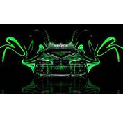 Monster Energy BMW M3 E46 Front Plastic Car 2014 Green Neon Design By
