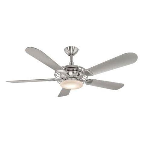 hton bay vercelli 52 in brushed steel ceiling fan