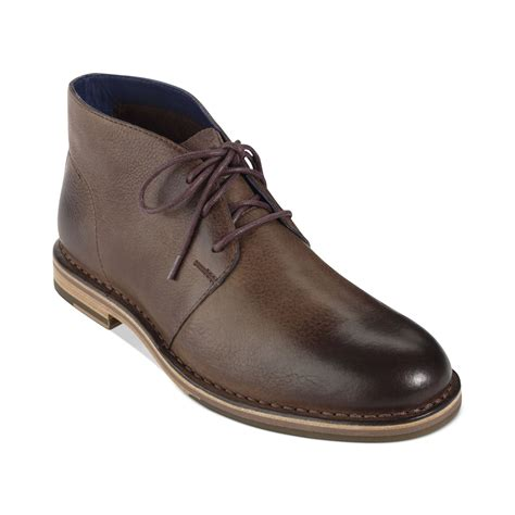 cole haan s boots cole haan glenn chukka boots in brown for juniper