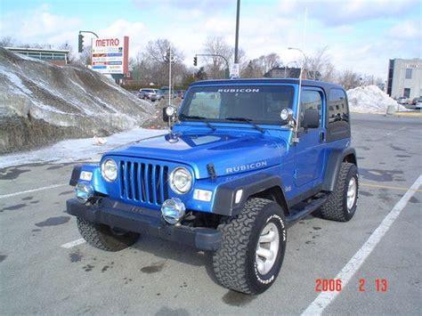 rubicon jeep blue blue jeep wrangler rubicon 2 door 2003 jeep rubicon quot big