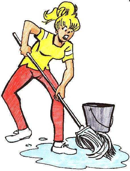 3 Feet Plan Mop The Floor Clipart 35