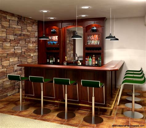 custom design home bars wallpapers area