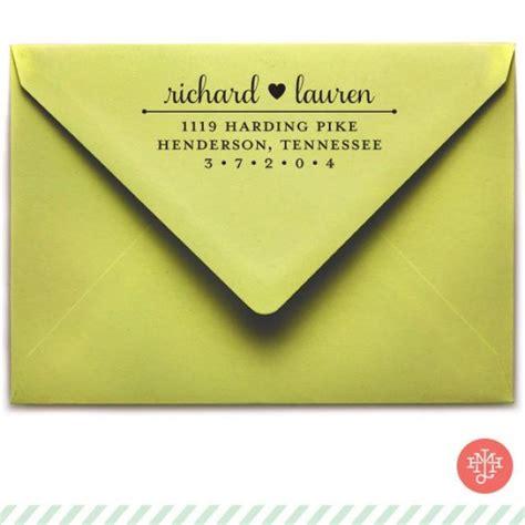 wedding invite return address return address st wooden handle or self