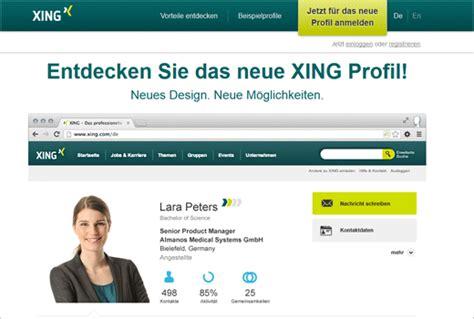 Muster Xing Profil Schritt F 252 R Schritt Zum Neuen Xing Profil Deutsche Startups De