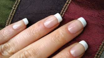How To Decorate Nails At Home Perfect French Nails At Home Diy Tutorial Youtube