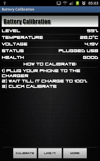 android battery calibration battery calibration my android