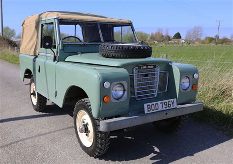 land rover series 3 88 quot softop 59 000 bod 796y