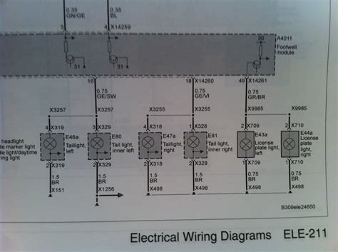i need a wiring diagram 2008 e92 lights