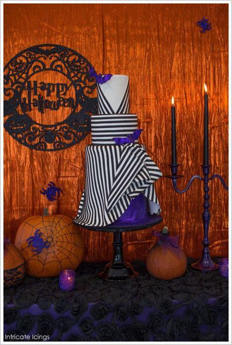quiero imágenes de halloween glittery glam halloween by intricate icings thecakeblog