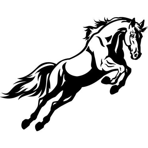 stickers cheval pas cher