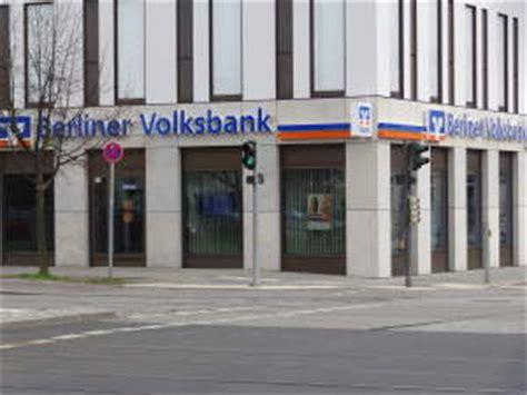 berliner bank filialen berlin berliner volksbank 214 ffnungszeiten der filialen