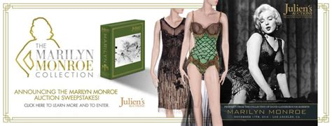 Enter The Sweepstakes - the marilyn monroe jfk birthday dress returns the marilyn monroe collection
